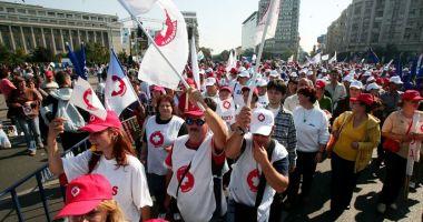 Salariați din Sănătate amenință  cu declanșarea protestelor