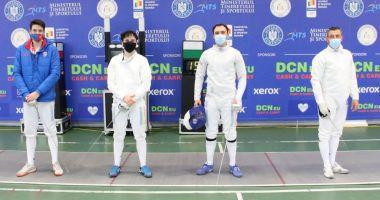 Scrimă / Alexandru Oroian, câştigătorul Cupei României la spadă