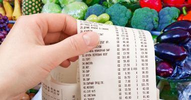 Alimentele s-au scumpit cu 5% în decurs de un an