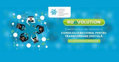 Consiliul Naţional pentru Transformare Digitală se lansează săptămâna viitoare