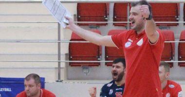 Sergiu Stancu, fost voleibalist la CVM Tomis, a preluat naţionala României