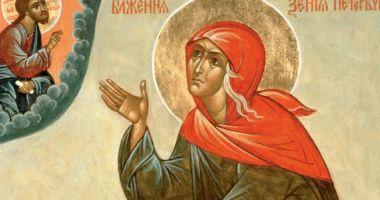 CALENDAR ORTODOX 24 ianuarie. Sfânta Xenia protejează familia