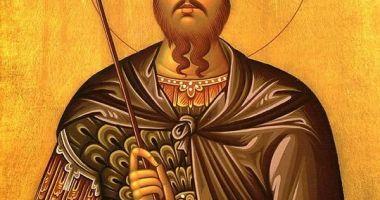 Sfântul Mare Mucenic Teodor Tiron, cinstit de creștini
