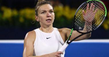 Simona Halep, calificată cu dificultate în sferturile turneului de la Praga