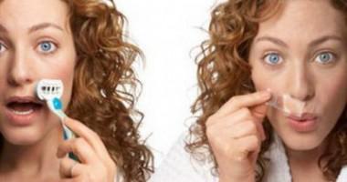 Cosmetica la domiciliu. Ce greșeli trebuie evitate la epilarea mustaței