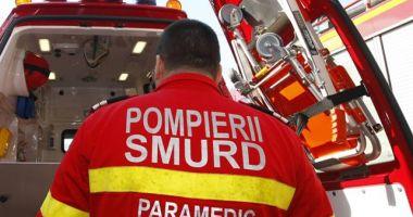 ACCIDENT RUTIER GRAV pe DN 22 Constanța - Tulcea. O femeie a murit