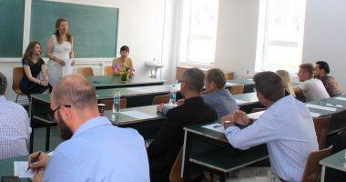 """Specialiștii industriei navale și portuare, într-un workshop la Universitatea """"Ovidius"""""""