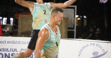 Spectacol în ploaie la Constanța Beach Volleyball Tour
