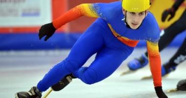 FOTE / Emil Imre a câștigat medalia de aur la short track 1.000 metri