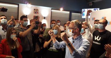 Foto : VIDEO. ALEGERI CONSTANȚA / EXIT POLL CURS-Avangarde: Surpriză de proporţii! Stelian Ion îi ia faţa lui Decebal Făgădău