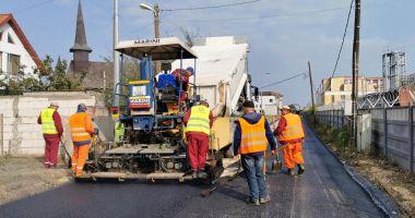 Programul de amenajare a infrastructurii rutiere în cartierul Compozitorilor continuă