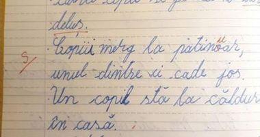 """REVOLTĂTOR! Elev notat cu """"SUFICIENT"""", pentru că a scris ... corect"""