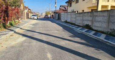 Administraţia locală din Techirghiol a reabilitat mai multe străzi şi trotuare