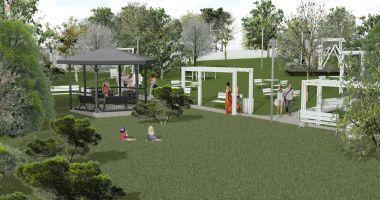 Primăria amenajează un parc nou pentru locuitorii orașului Techirghiol