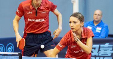 Tenis de masă / Bernadette Szocs și Ovidiu Ionescu, calificaţi la JO de la Tokyo, în proba de dublu mixt