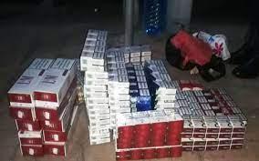Țigarete de contrabandă descoperite de vameșii din portul Constanța