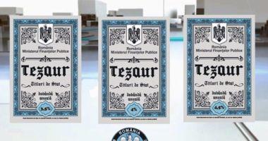 """Noi titluri de stat """"Tezaur"""" vor fi puse în vânzare din 2 august"""