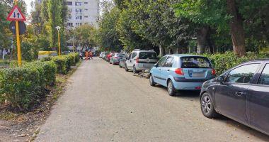 Trafic restricţionat pe o stradă din centrul Constanţei