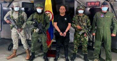 Cel mai căutat traficant de droguri din Columbia a fost arestat