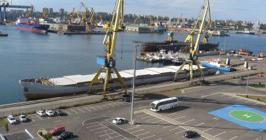 Traficul de mărfuri din portul Constanța plătește tribut pandemiei Covid-19