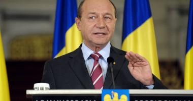 Traian Băsescu face declarații de presă la 18.30