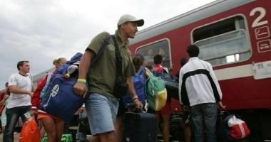 Trenurile vor avea întârzieri din cauza temperaturilor ridicate