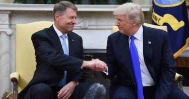 Trump, mesaj pentru Iohannis cu ocazia Zilei Naționale: România e un aliat neprețuit pentru SUA