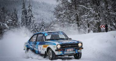 Belgianul Ghislain de Mevius a câştigat Romania Historic Winter Rally