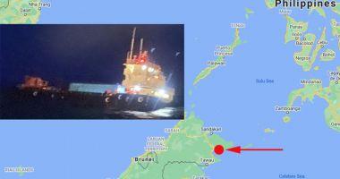 Un remorcher s-a scufundat în Marea Sulu