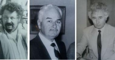 Arhiva de Aur Cuget Liber. Trei mari profesori. Amintiri cu Gheorghe Dumitrașcu, Puiu Enache și Ioan Popișteanu