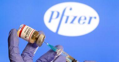 O nouă tranşă de vaccin Pfizer BioNTech vine, luni, la Constanţa
