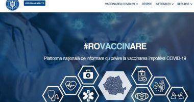 Platforma pentru vaccinarea contra Covid-19 nu funcționează luni dimineață