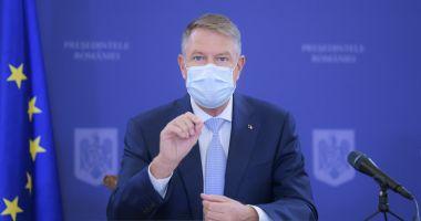 Președintele Klaus Iohannis se va vaccina public astăzi