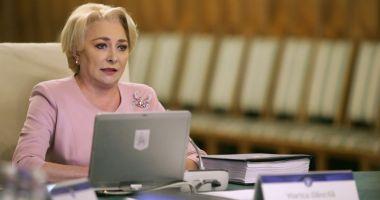 """Viorica Dăncilă:  """"Am început evaluările  pe fiecare minister"""""""