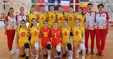 Volei / Naţionala de junioare U16 a României şi-a aflat adversarele de la Campionatul European