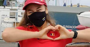 Barcă nouă pentru Ebru Bolat, cea mai valoroasă sportivă din yachtingul românesc