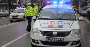 A blocat accesul la Direcția de Sănătate Publică Constanța, iar rutieriștii au luat măsuri