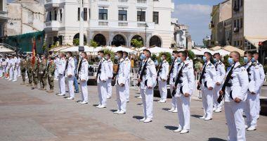 Ziua Imnului Național, marcată de marinarii militari